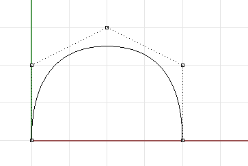 NURBS Curve Control Points