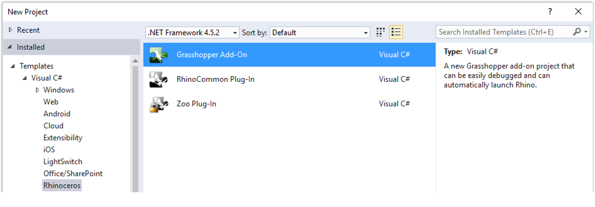 your first component windows with c vb